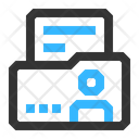 Personal Information Folder Commerce Icon