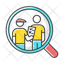 Personal Interview Survey Icon