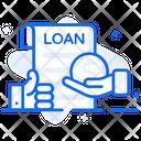 Personal Loan Advance Salary Mortgage Icon