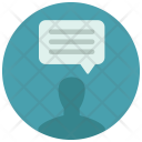 Personal Message Chat Icon