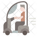 Personal Mobility Ageing Society Mobility Aid Icon