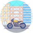 Personal Motorbike Icon