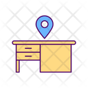 Workspace Desk Furniture Icon