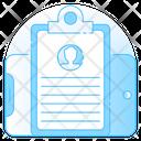 Profile Cv Biodata Icon