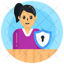 Personal Protection Personal Safety Personal Security Icon