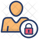 Personal Security Individual Protection Employee Privacy Icon