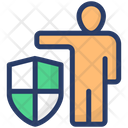 Personal Security Personal Insurance Insurance Icon