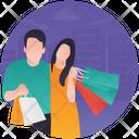 Personal Shopper Hat Shopping Fashion Showroom Icon