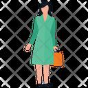 Personal Shopping Women Shopping Shopping Bags Icon