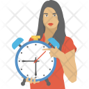 Person Time Management Icon
