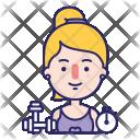 Personal Treiner Gym Icon