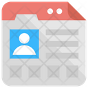 Personal Web Page Icon