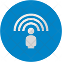 Personal Wireless Connection Icon