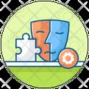 Personality Development Dual Personality Identity Icon