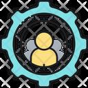 Personalization Crosshair Aim Icon