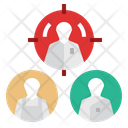 Personalization Marketing User Target Account Icon