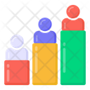 Rating Chart Persons Ranking Leaderboard Icon