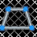 Distort Geometry Perspective Icon