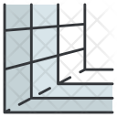 Perspective grid Icon