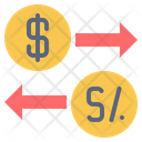 Usa Peru Currency Icon