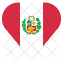 Peru Flag Country Icon