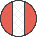 Peru Peruvian Country Icon