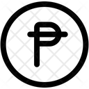 Peseta Currency Coin Icon