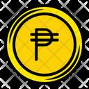 Philippine Peso Money Coin Icon