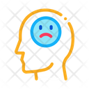 Pessimistic Person Bullying Icon