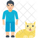 Boy Young Pet Icon