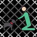 Pet Dog Stayhome Icon