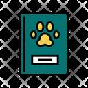 Pet Passport Color Icon
