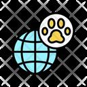 Pet World Travel Icon