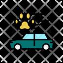 Pet Transportation Car Icon