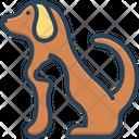 Pet Tame Dog Icon