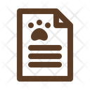 Pet Agreement Icon