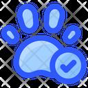 Pet Allowed Footprint Icon
