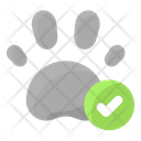 Pet Allowed Footprint Icon