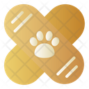 Bandaid Pet Vet Icon