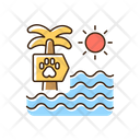 Pet Beach Icon