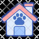 Pet Boarding Pet House Animal House Icon
