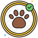 Mpet Care Pet Care Paw Foot Icon