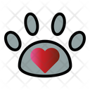 Paw Love Pet Care Icon