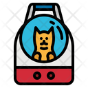 Carrier Dog Backpack Icon