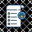 Pet Checkup Report Icon