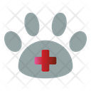 Clinic Paw Veterinary Icon