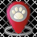 Pin Animal Clinic Icon