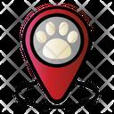 Pet Clinic Location Icon
