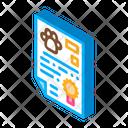Pet Document Icon