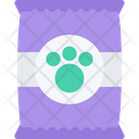 Pet Dry Food Wildlife Face Icon